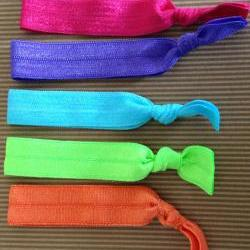 Summer Elastic Hair Ties (and bracelets) Collection